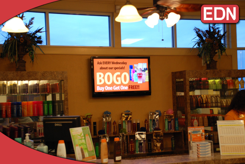 Our Digital Signage is perfect for use in Delis, Markets and Restaraunts