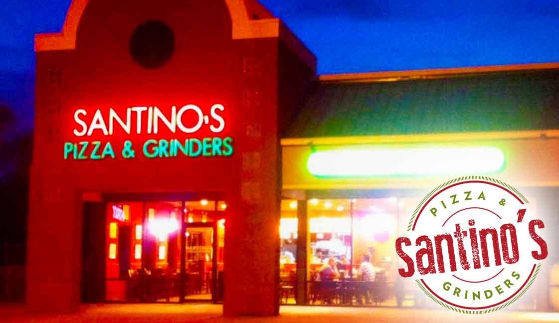 "Santino's Davis<br><i class=""fa fa-television""></i> 1 Ad Screen"