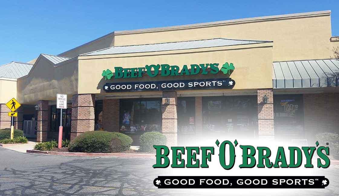 "Beef O'Brady's Gulf Breeze<br><i class=""fa fa-television""></i> 1 Ad Screen"