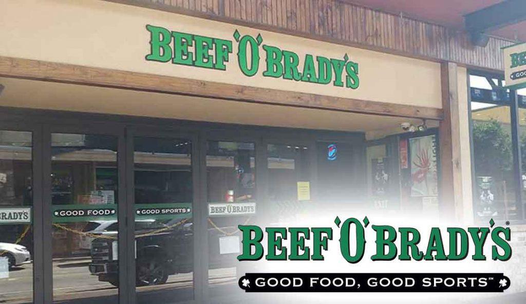 "Beef O'Brady's Downtown Pensacola, FL<br><i class=""fa fa-television""></i> 1 Of 2 Ad Screens"