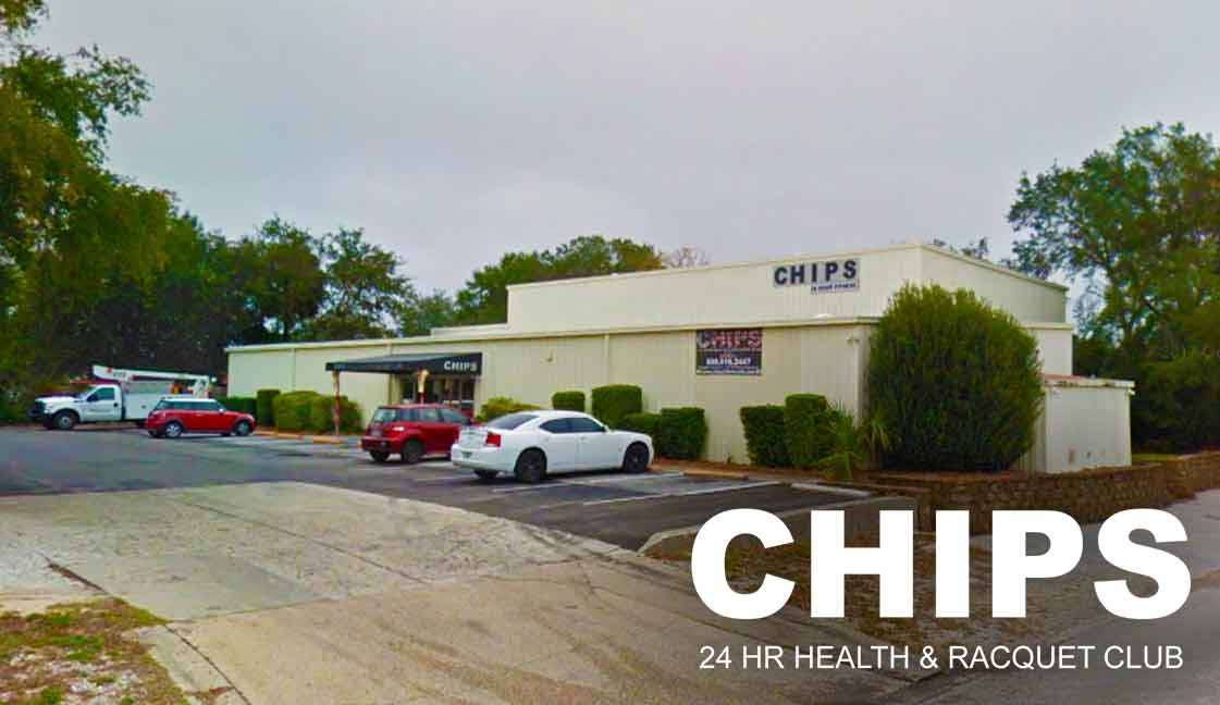"• Chip's Gym<br><i class=""fa fa-television""></i> 1 Ad Screen"