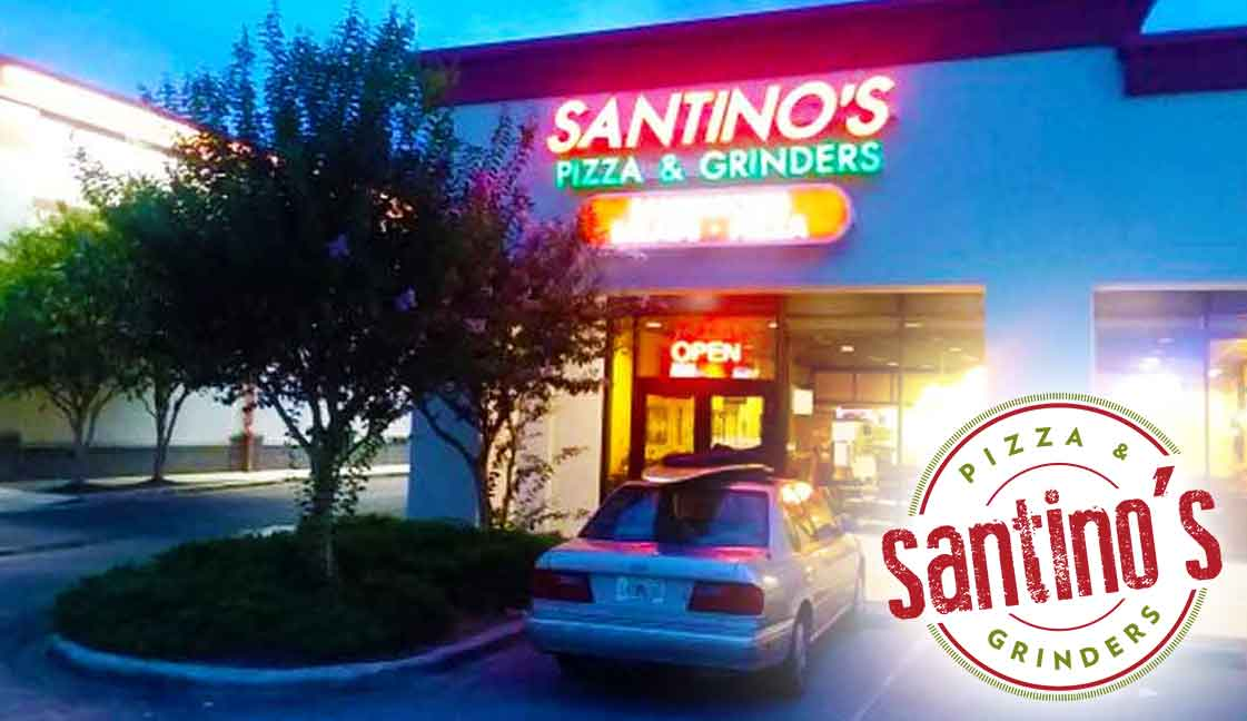 "Santino's Pizza Gulf Breeze<br><i class=""fa fa-television""></i> 1 Ad Screen"
