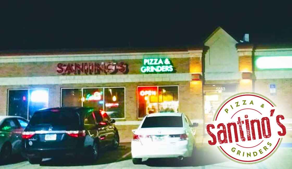 "Santino's Pizza Pace<br><i class=""fa fa-television""></i> 1 Ad Screen"